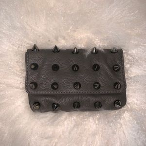 Deux Lux Spiked Hand clutch